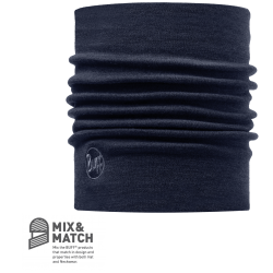 Image of   Buff Heavy Merino Wool Neckwarmer Denim