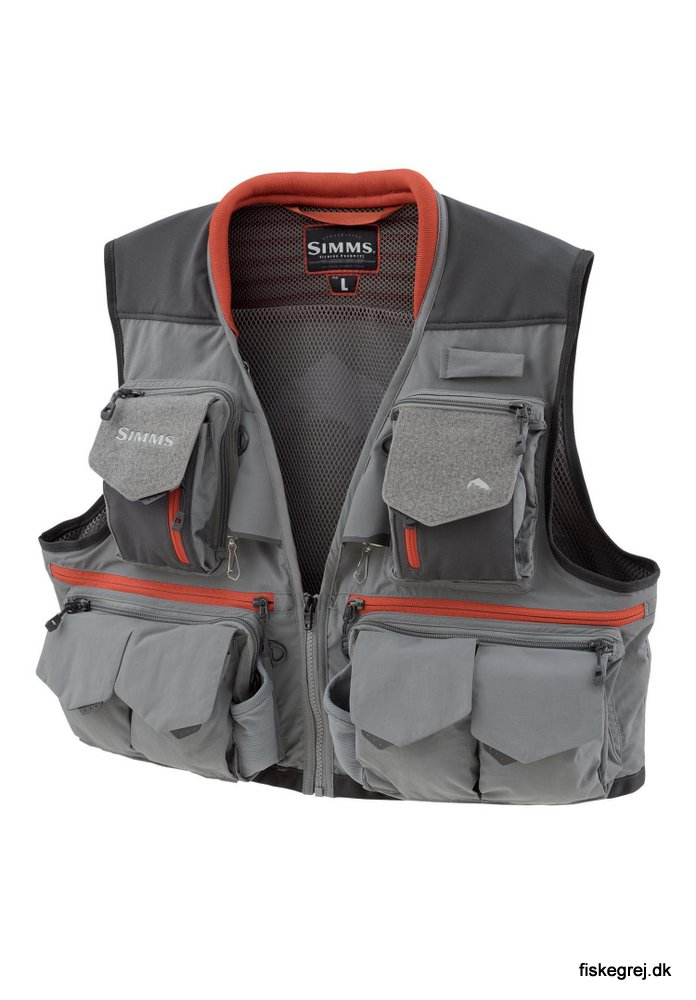 Image of   Simms Guide Vest Steel