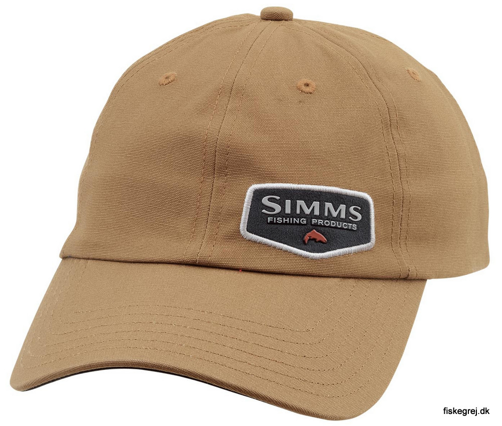 Image of   Simms Oil Cloth Cap Honey Brown
