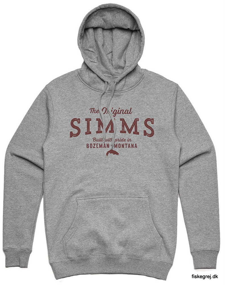 Image of   Simms The Original Hoody Grey Heather