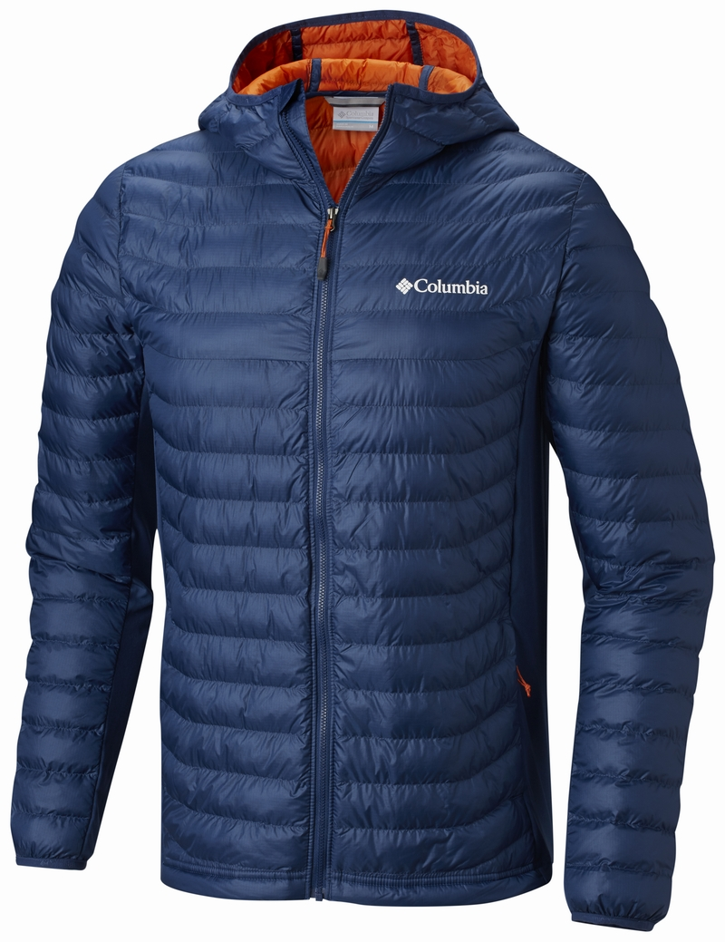 Columbia Powder Lite Light Hooded Blå