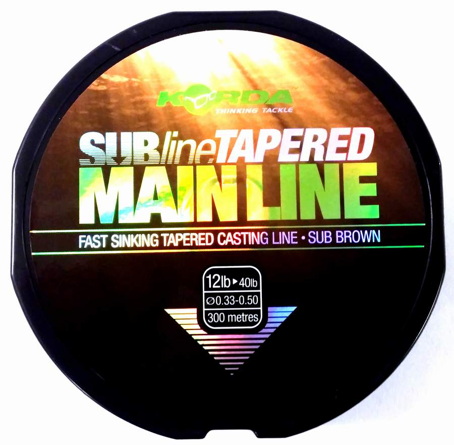 Korda Subline Tapered Mainline 300m