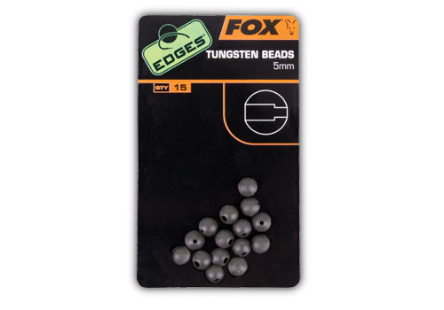 Image of   Fox Edges Tungsten Beads
