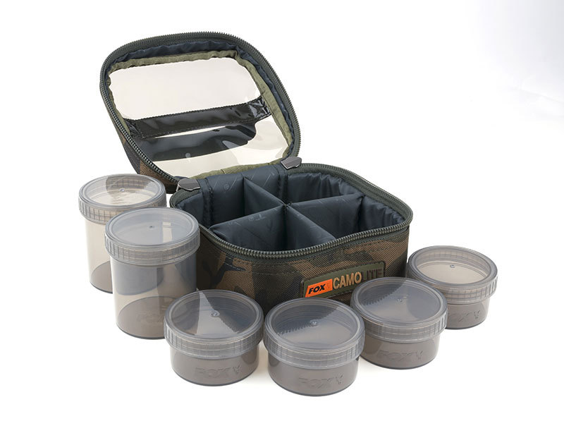 Fox Camo Lite Glug 6 Pot Case