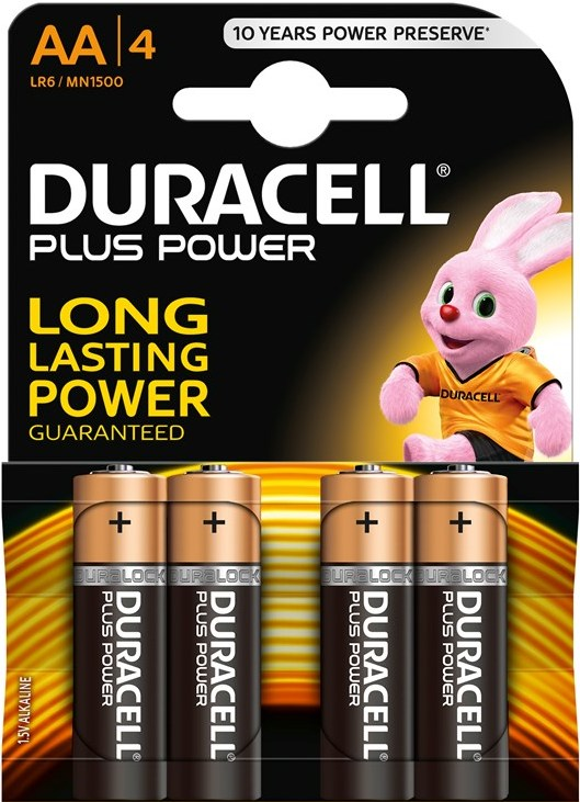 Duracell Plus Power Batterier