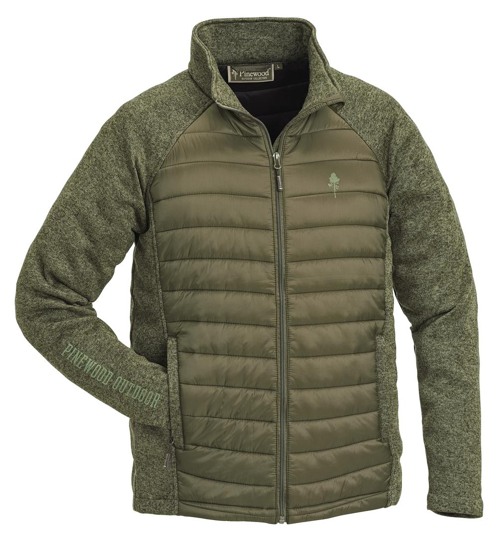 N/A Pinewood gabriel padded jakke grøn fra fiskegrej.dk