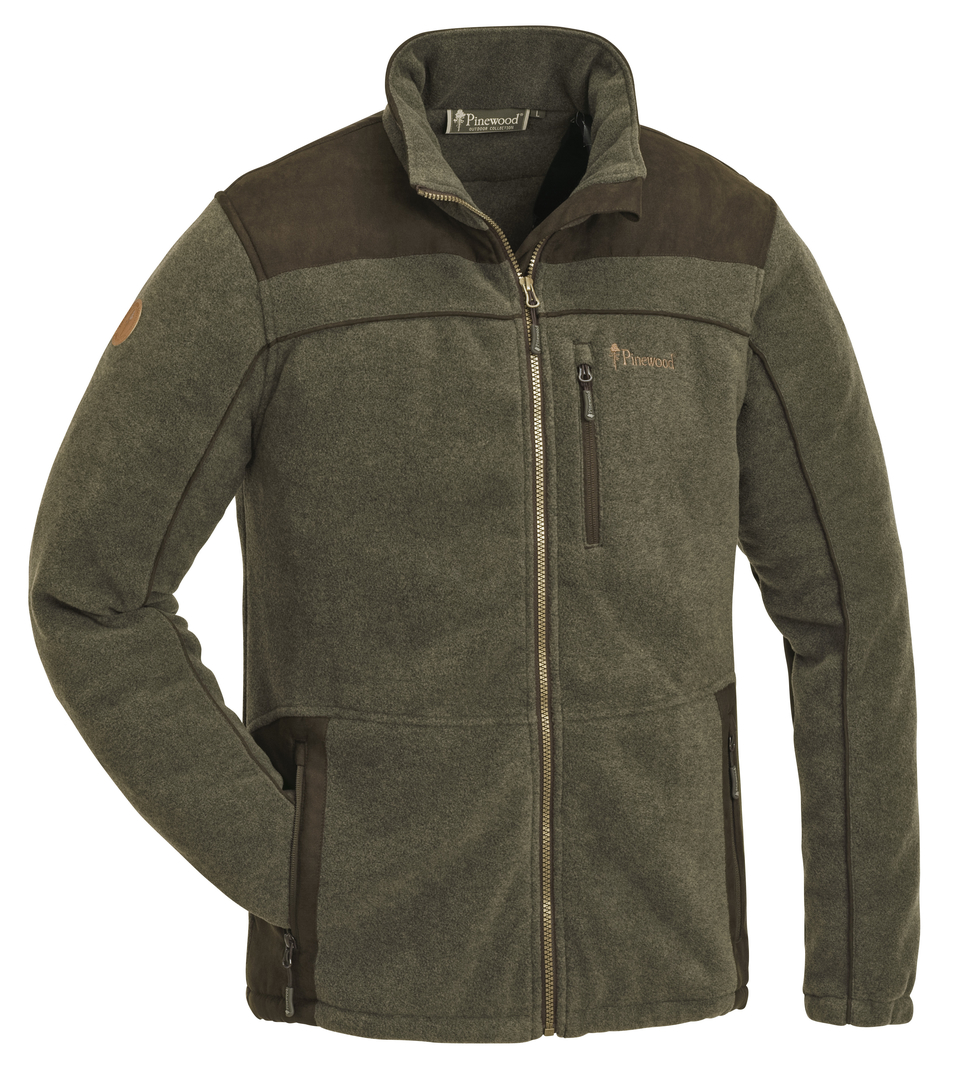 Image of   Pinewood Prestwick Exklusive Fleece Olive