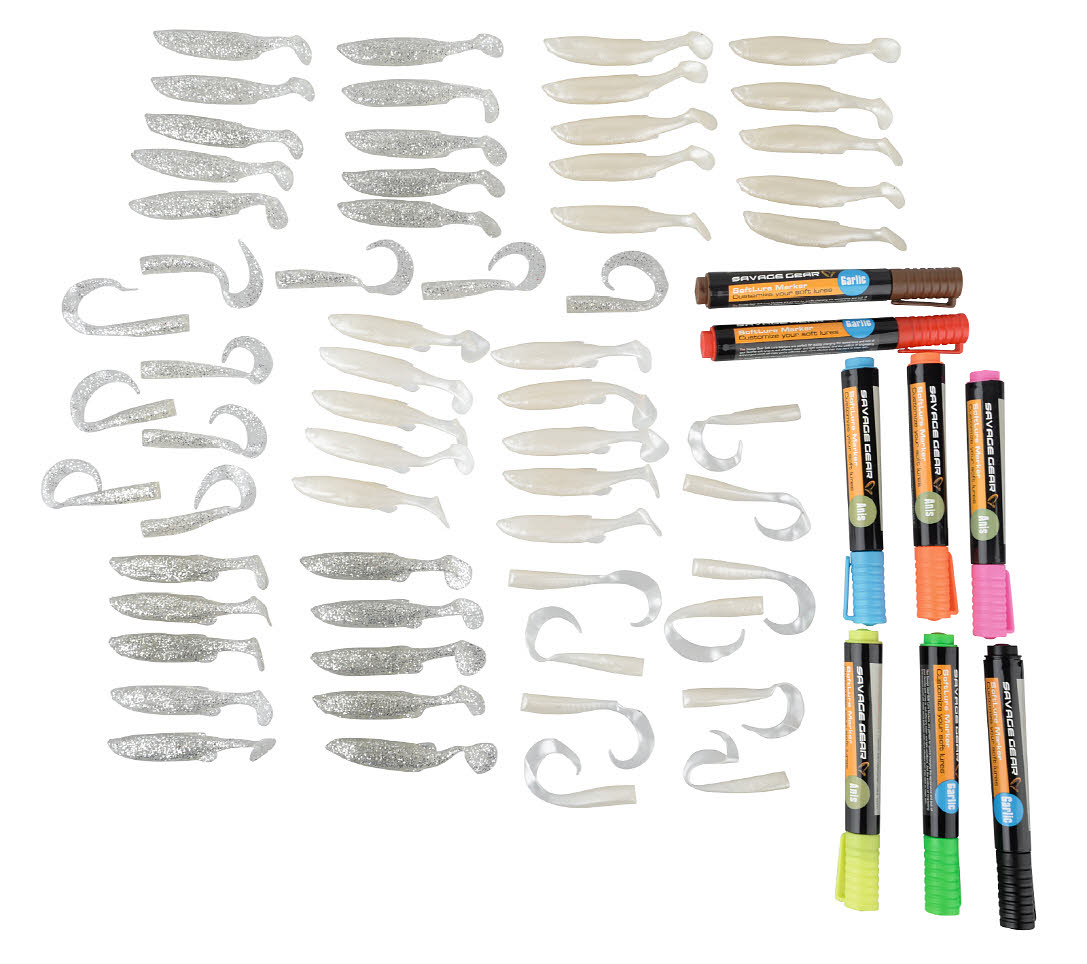 Savage Gear Soft Lure and Markers Kit