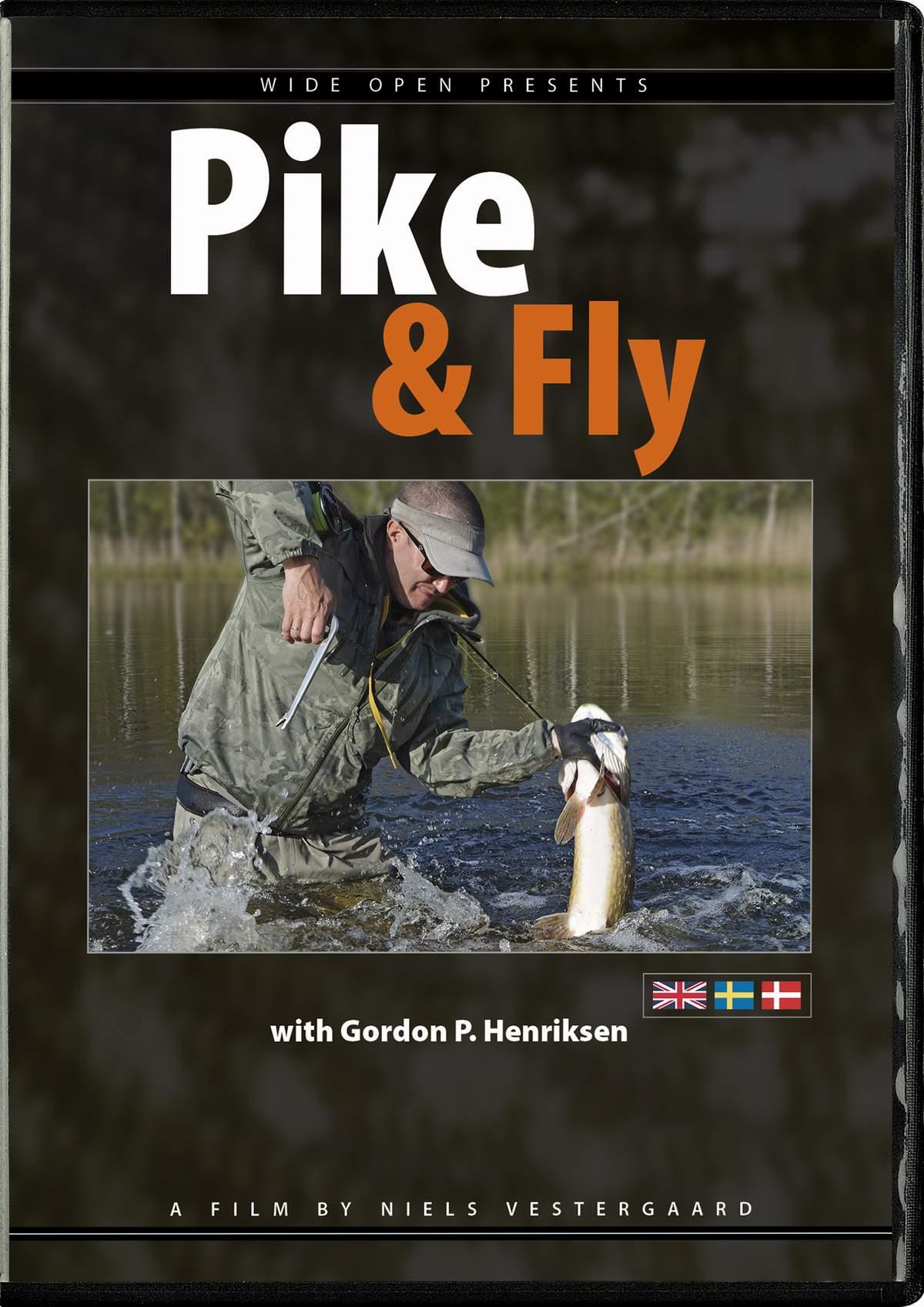 N/A Pike & fly dvd på fiskegrej.dk