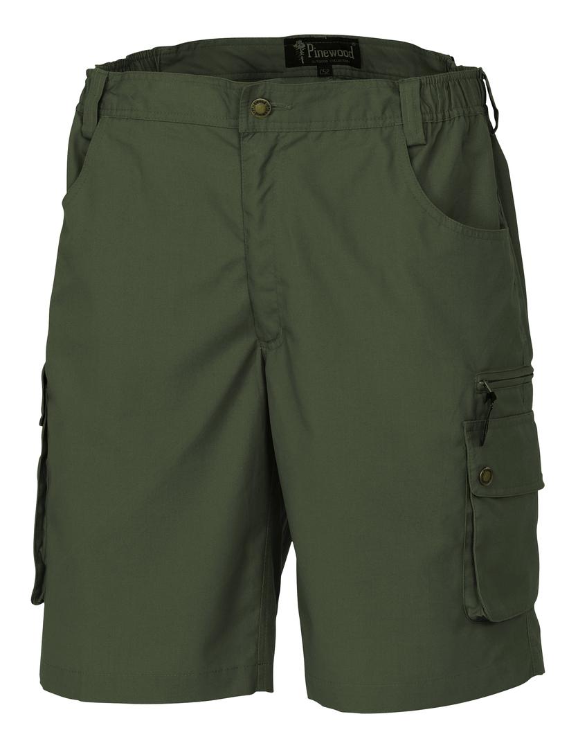 N/A – Pinewood wildmark shorts grøn fra fiskegrej.dk