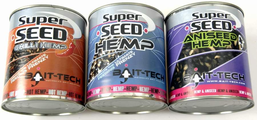 Bait-tech canned super seed hemp fra N/A på fiskegrej.dk