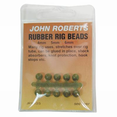 Image of   John Roberts Rubber Rig Beads