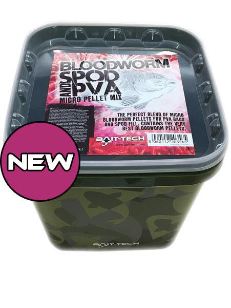 Bait-Tech Bloodworm Spod & PVA Pellets 2,5kg