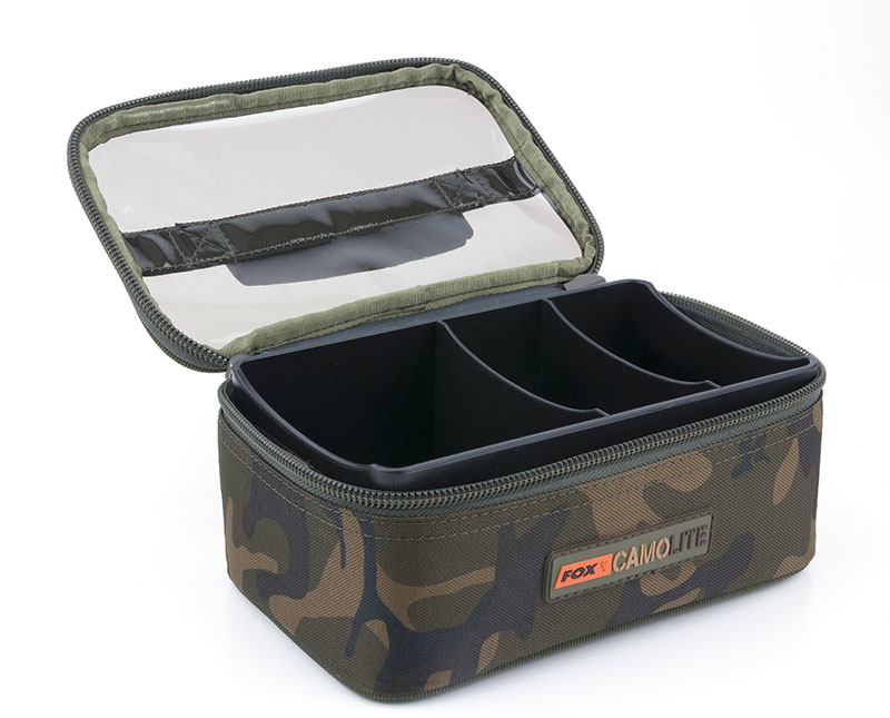 Fox Camo Lite Rigid Lead & Bits Bag