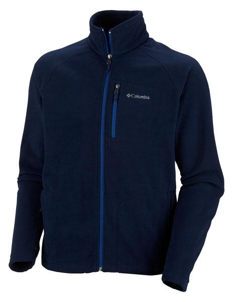 Image of   Columbia Fast Trek II Full Zip Fleece Blå