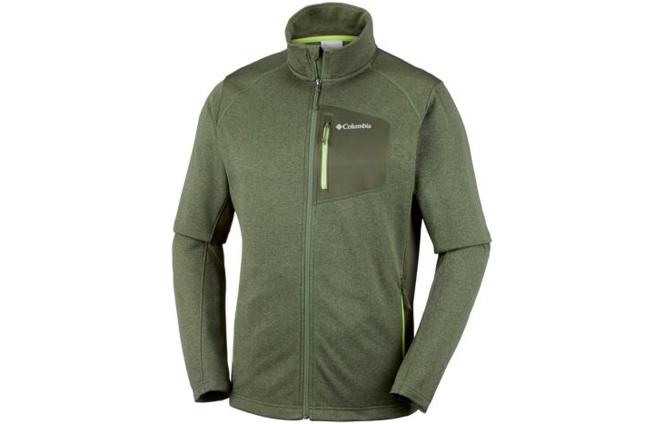 Columbia Jackson Creek II Fleece Grøn