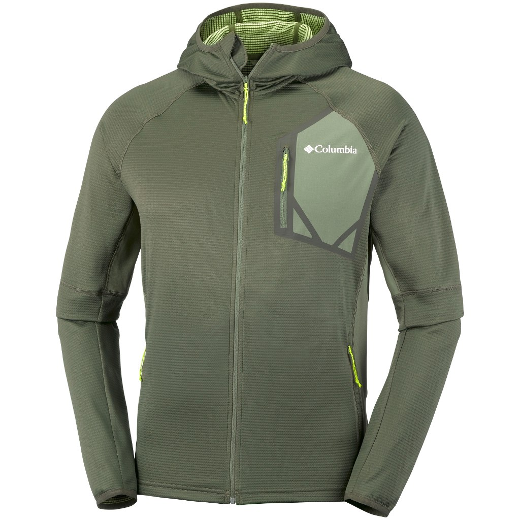 Columbia Triple Canyon Hooded Fleece Grøn