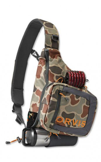 Orvis Safe Passage Sling Pack Brown Camo