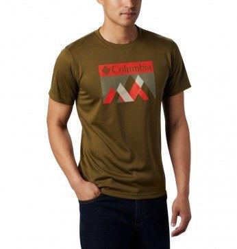 Columbia Zero Rules™ Graphic T-Shirt New Olive Peak