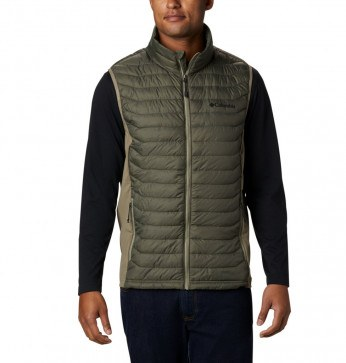 Columbia Powder Pass™ Vest New Olive Heath