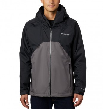 Columbia Rain Scape™ Jacket Black, City Grey