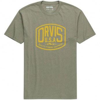 Orvis Badge Logo T-Shirt Olive