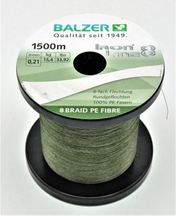 Balzer Iron Line 8 Grøn Metermål