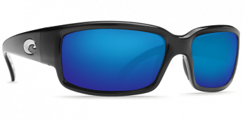 Costa Caballito 580P Shiny Black/Blue Mirror