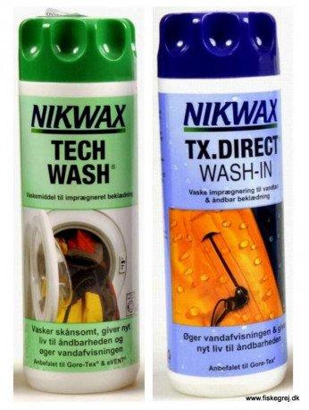 Nikwax TX.Direct Wash-In+Tech Wash