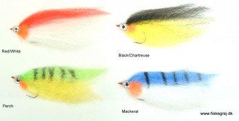 Acrylic Baitfish Geddeflue