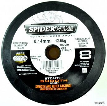Spiderwire Stealth Smooth 8 Hvid Metermål
