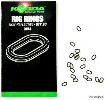 Korda Rig Rings Oval
