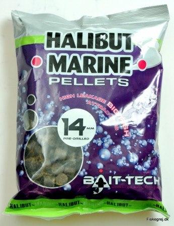 Bait-Tech Halibut Marine Pellets 900gr