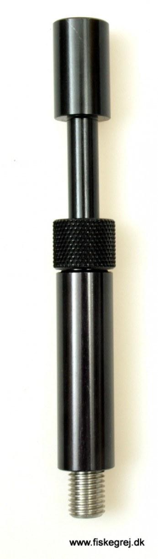"""Korda Singlez Alu Upright 3,5"""" Black"""