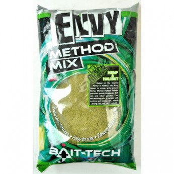 Bait-Tech Envy Method Mix Hemp & Halibut Grøn