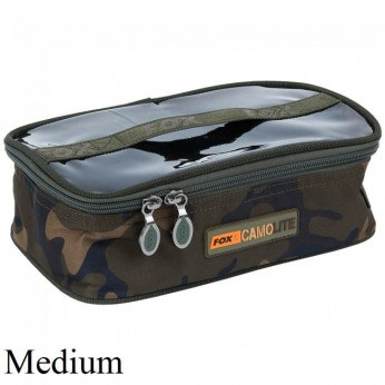 Fox Camo Lite Accessory Bag Medium