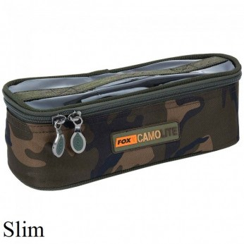 Fox Camo Lite Accessory Bag Slim