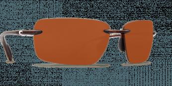 Costa Gulf Shore 580P Shiny Tortuise/Copper