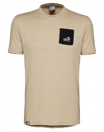 Geoff Anderson T-Shirt med Lomme Safari