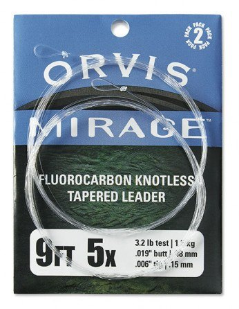 Orvis Mirage Fluorocarbon Forfang 2stk.