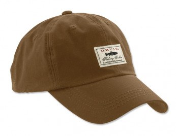 Orvis Vintage Waxed Cotton Cap Brown