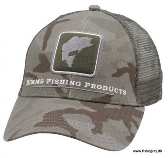 Simms Bass Icon Trucker Pico Camp Mineral Cap