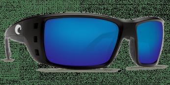 Costa Permit 580G Matte Black/Blue Mirror