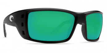 Costa Permit 580G Matte Black/Green Mirror