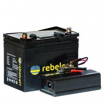 Rebelcell Ultimate 12V50 Inkl. Lader