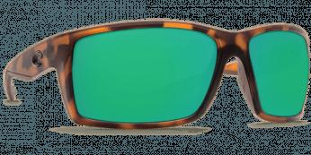 Costa Reefton 580P Matte Retro Tortuise/Green Mirror