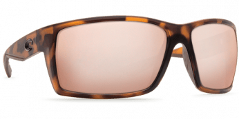 Costa Reefton 580G Retro Matte Tortuise/Sunrise Silver Mirror