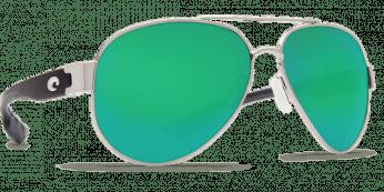 Costa South Point 580P Silver Palladium/Green Mirror