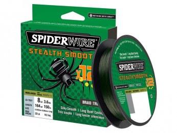 Spiderwire Stealth Smooth x12 Grøn 150m