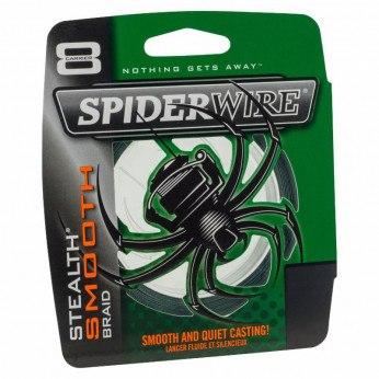 Spiderwire Stealth Smooth 8 Grøn Påspoling